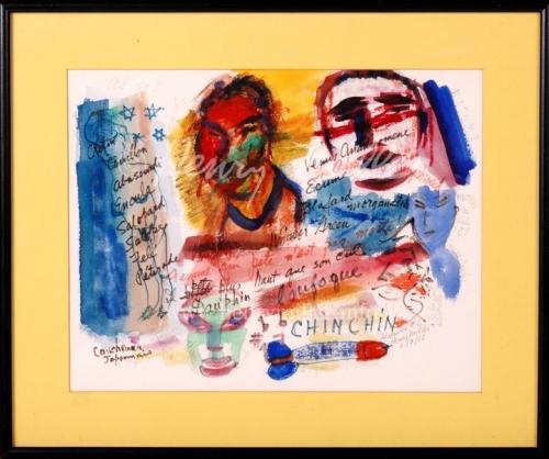 """Uykusuzluk Dizisi'nden """"Chin Chin"""", Henry Miller, 1965"""