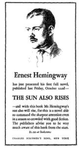 Ernest Hemingway - Güneş de Doğar