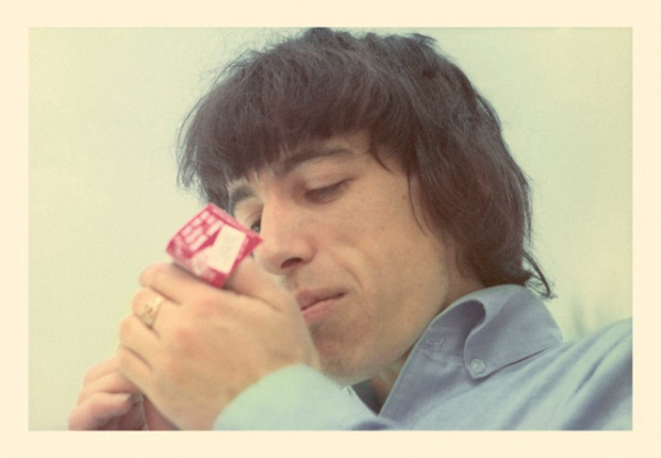 billwymanlightingcigarette
