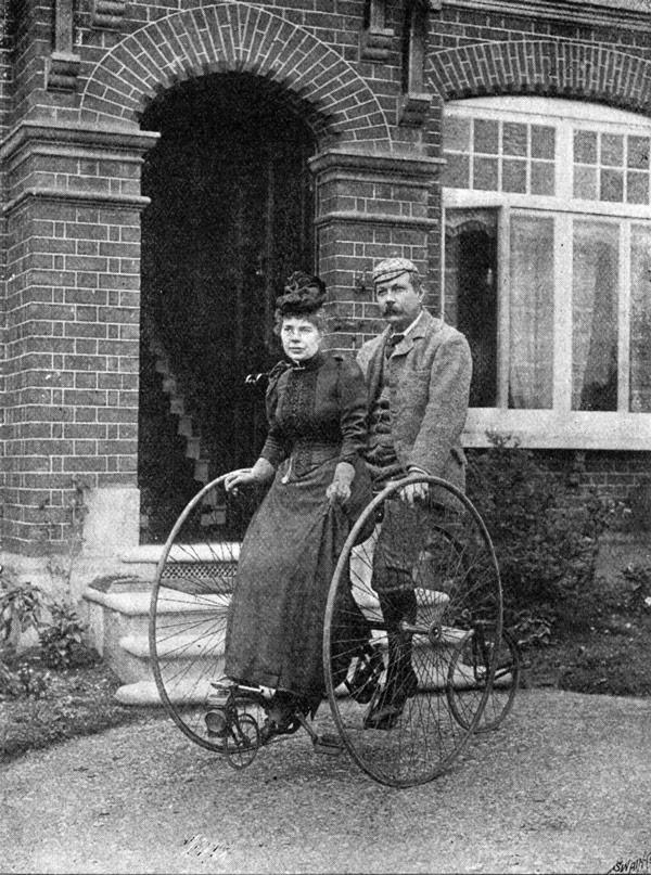Sir Arthur Conan Doyle ve eşi