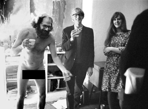Allen Ginsberg 39. doğum gününde