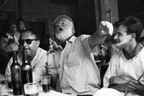 Ernest Hemingway Paris'te