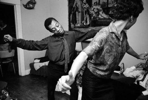 James Baldwin ve Lorraine Hansberry