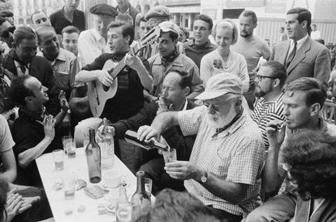 Son olarak yine Ernest Hemingway, 1959