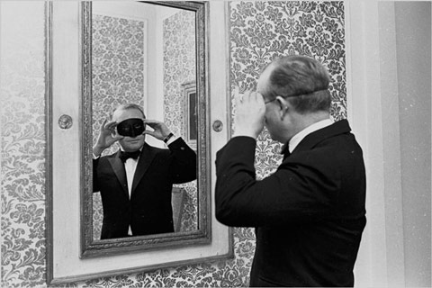 Truman Capote meşhur Siyah-Beyaz Balosu'nda, 1966