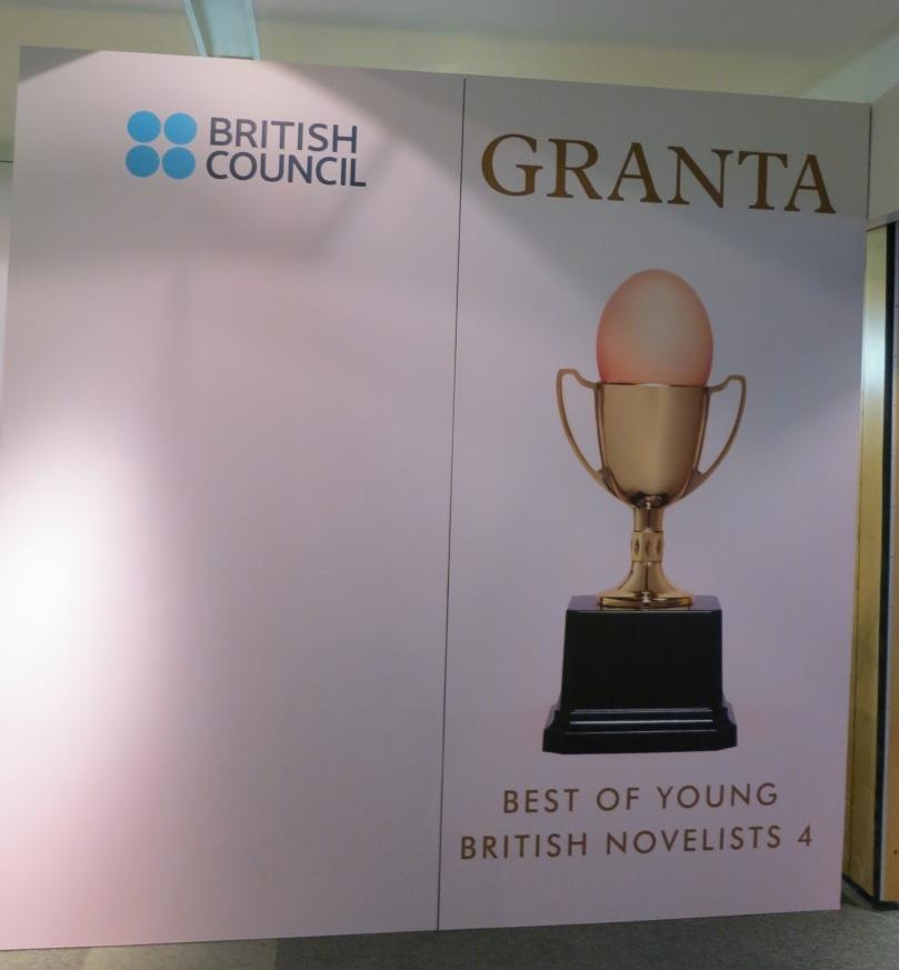 """Granta'nın """"En İyi Genç İngiliz Romancılar 4"""" kokteylinden."""