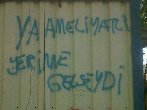 Gezi Parkı Direnişi'nde sokak sanatı