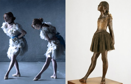 14 Yaşındaki Küçük Dansçı / Edgar Degas