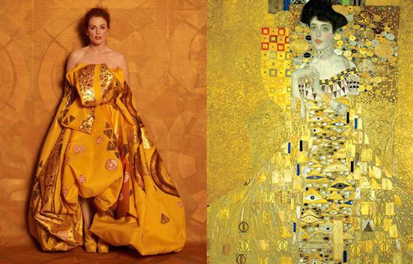 Adele Bloch Bauer I / Gustav Klimt
