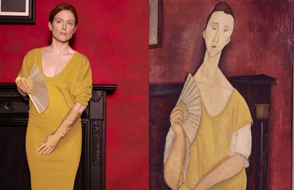 Yelpazeli Kadın / Amedeo Modigliani