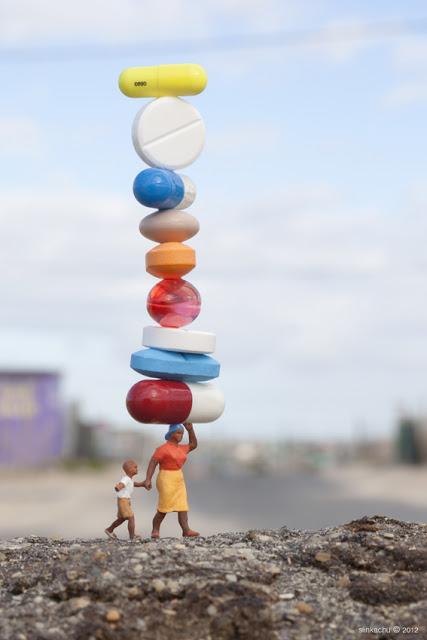 Balancing Act 1a - Khayelitsha, Cape Town