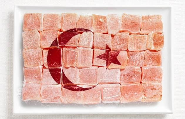 Türkiye; lokum.