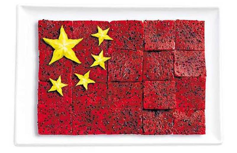 Çin; dragon fruit ve star fruit.