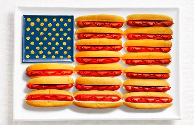 ABD; hot dog, ketçap ve hardal.