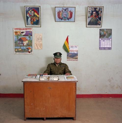 Bolivya, polis, Potosi, 2005.