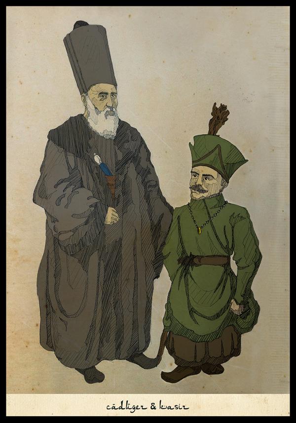 caduger ve kasir-gandalf and frodo