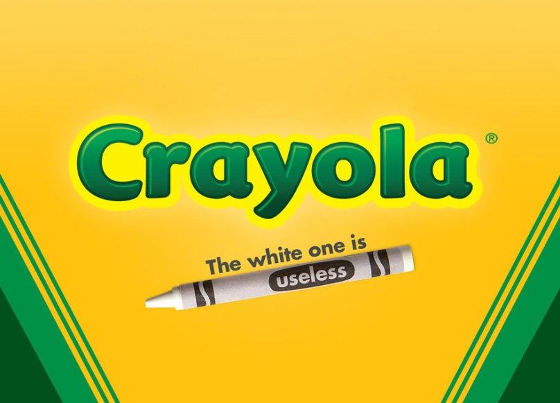 Beyaz olanı hiçbir işe yaramıyor.