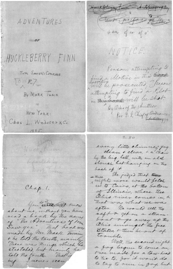 Huckleberry Finn'in Maceraları - Mark Twain