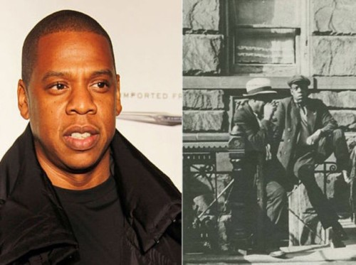 Jay-Z ve 1939'da Harlem'deki bir adam
