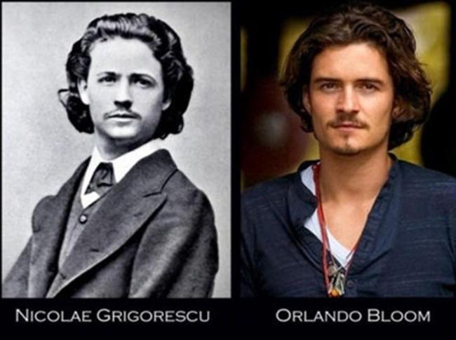 Orlando Bloom and Nicolae Grigorescu
