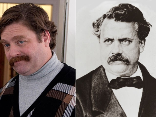 Zach Galifianakis ve Louis Vuitton