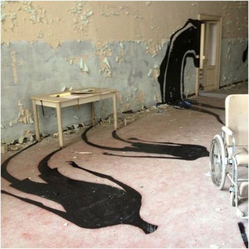 abandoned psychiatric mental hospital parma italy herbert 1000 shadows FLOOR