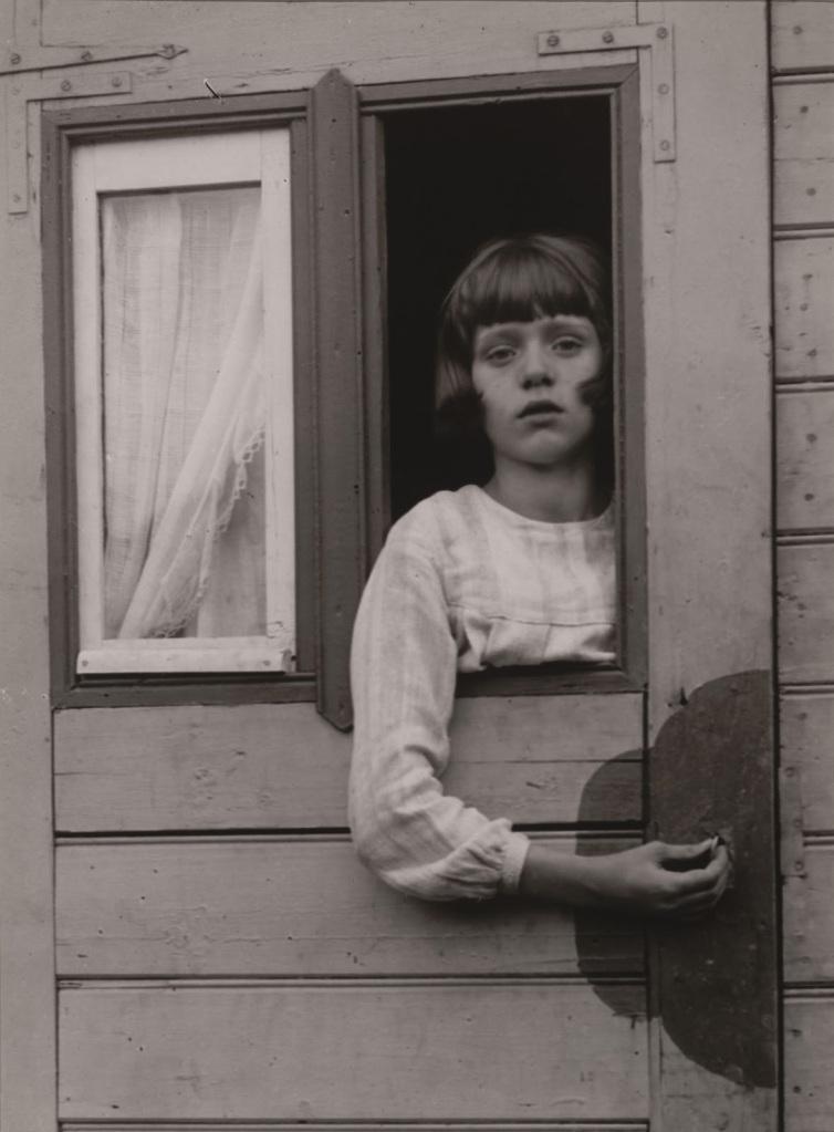 Sirk Vagonundaki Genç Kız, 1929.