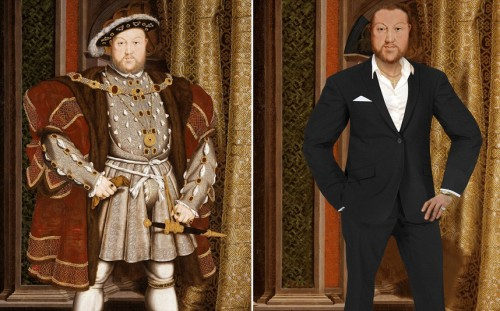 MEET HENRY VIII Ð THE MODERN DAY LADYKILLER Henry VIII has been magically transported to the 21st Century via a unique art project commissioned by TV channel Yesterday to celebrate its new historical series Secret Life OfÉ. starting on Thursday 2nd May at 9pm.  A team of digital artists from the channel spent three months updating a series of classic portraits - working closely with award-winning historian Dr Suzannah Lipscomb to ensure the new artworks accurately reflect how the historical figures might look in 2013.   Adrian Wills, General Manager of Yesterday commented: ÔSecret Life OfÉ takes a completely new perspective on the lives on some of historyÕs most fascinating and notorious figures. Henry VIII, Elizabeth I, Shakespeare, Marie Antoinette and Nelson are among the iconic personalities whose lifestyles and habits are dissected through the eyes of the contemporary, celebrity-obsessed world.  These great characters are reimagined with a modern take, showing them in a completely different light - much like the new re-versioned portraits.Õ